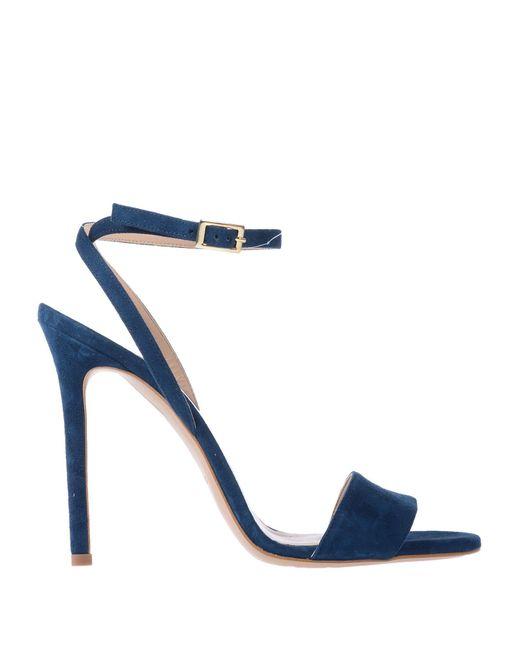 Aperlai - Blue Sandals - Lyst