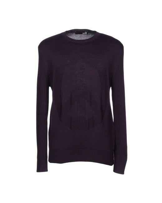 Love Moschino - Purple Sweater for Men - Lyst