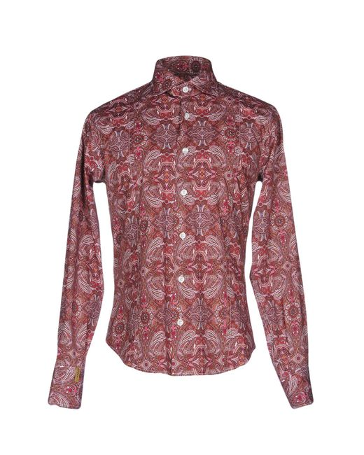 Billionaire | Multicolor Shirt for Men | Lyst