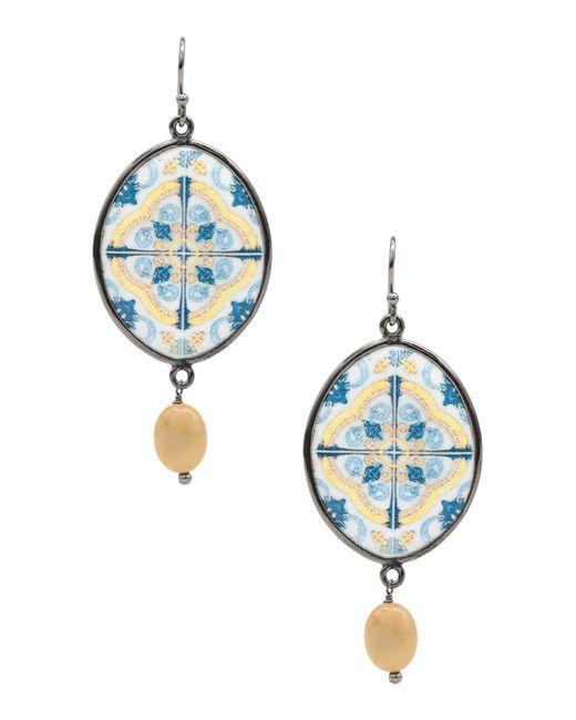 Aonie - Blue Earrings - Lyst