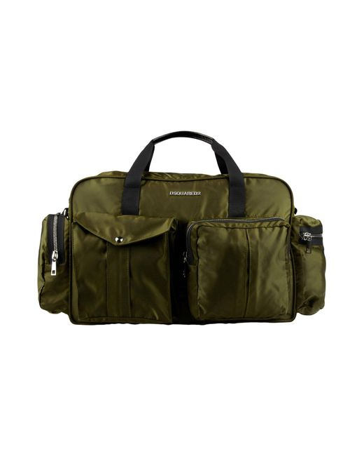 DSquared² - Green Luggage for Men - Lyst
