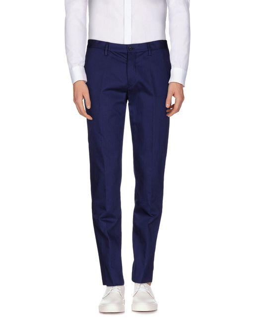 Maison Margiela - Blue Casual Trouser for Men - Lyst