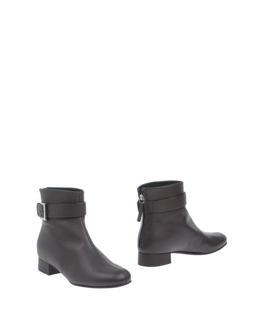 Vicini - Brown Ankle Boots - Lyst