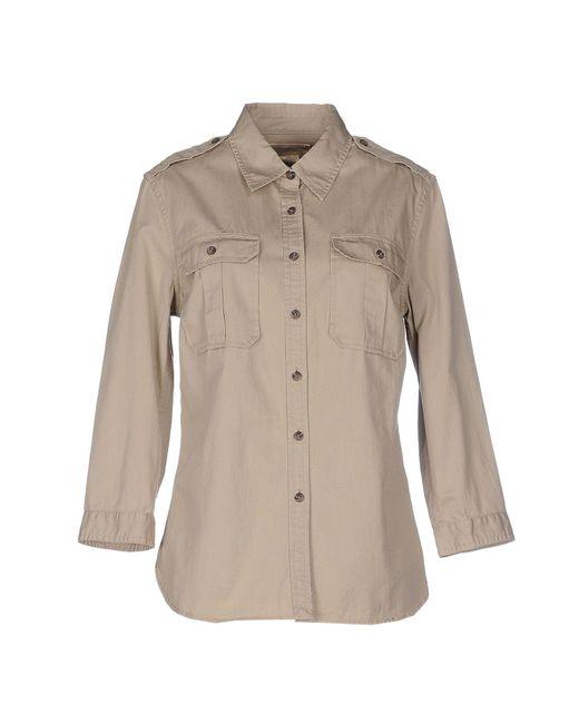 Denim & Supply Ralph Lauren - Natural Shirts - Lyst