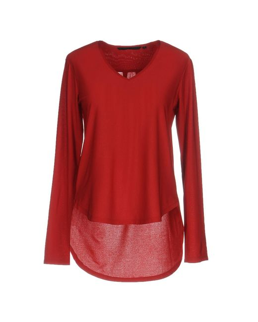 Silvian Heach | Red T-shirt | Lyst