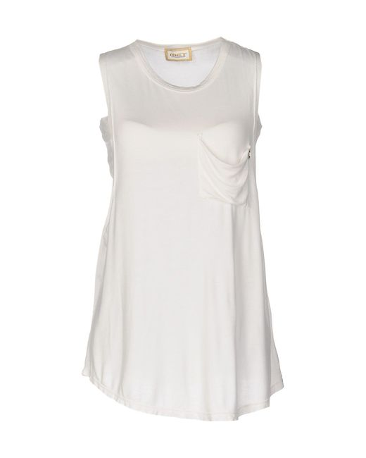 Met - White Top - Lyst