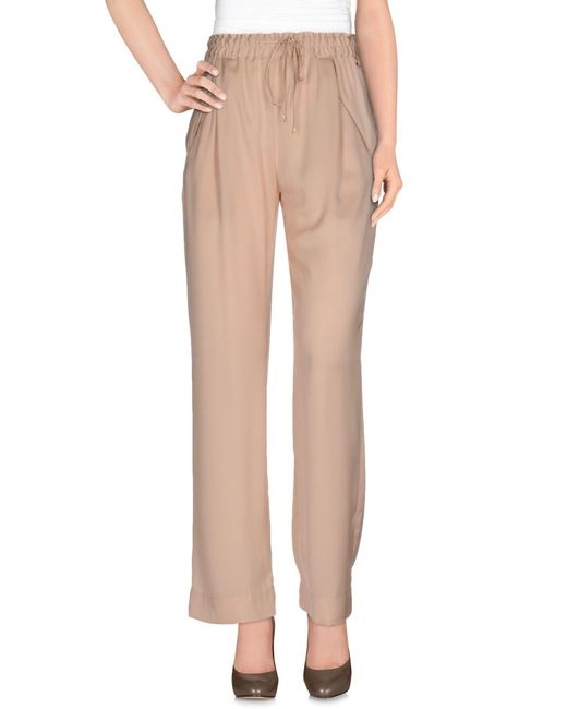 Patrizia Pepe | Pink Casual Pants | Lyst