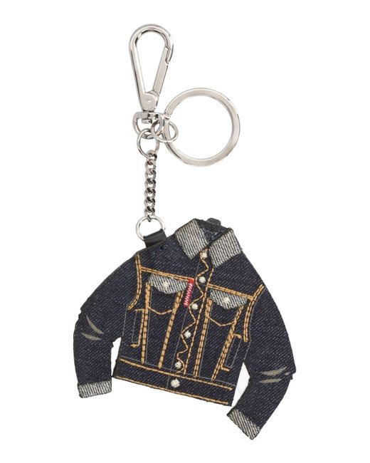 DSquared² - Blue Key Rings - Lyst