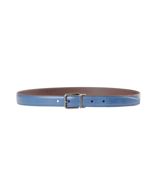 Dolce & Gabbana | Blue Belt for Men | Lyst
