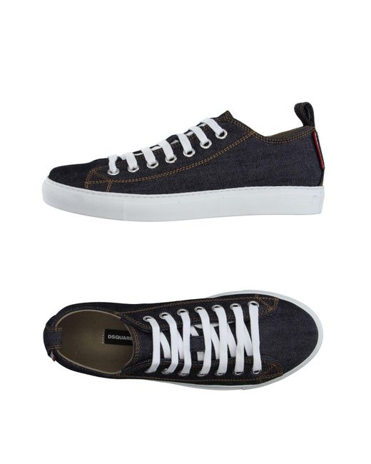 DSquared² | Blue Low-tops & Sneakers for Men | Lyst