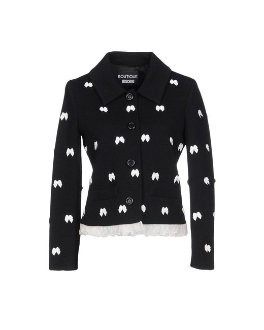 Boutique Moschino - Black Blazer - Lyst