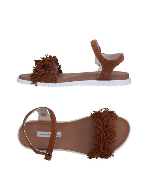 Tosca Blu - Brown Sandals - Lyst