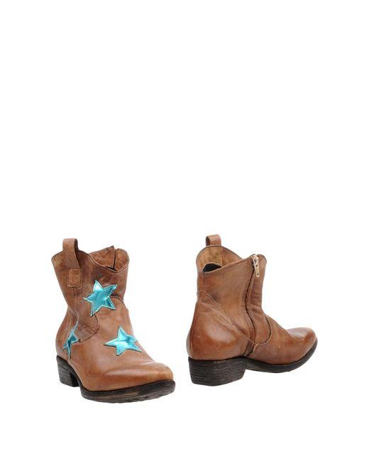 Silvian Heach - Brown Ankle Boots - Lyst