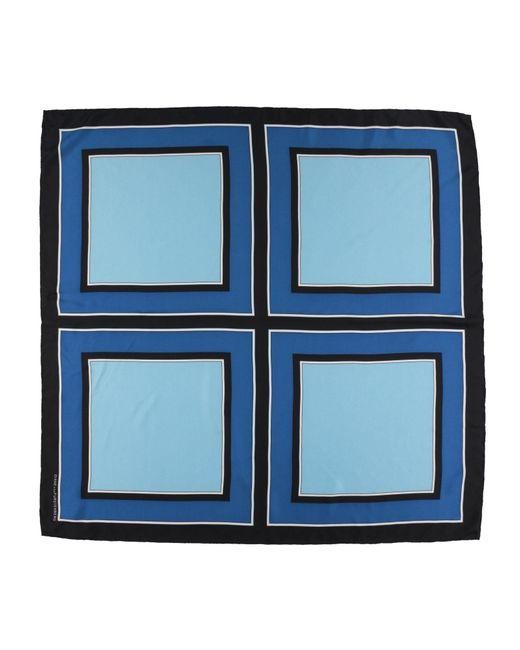 Diane von Furstenberg - Blue Square Scarves - Lyst