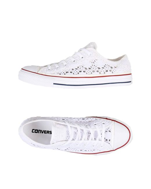 Converse - White Low-tops & Sneakers - Lyst