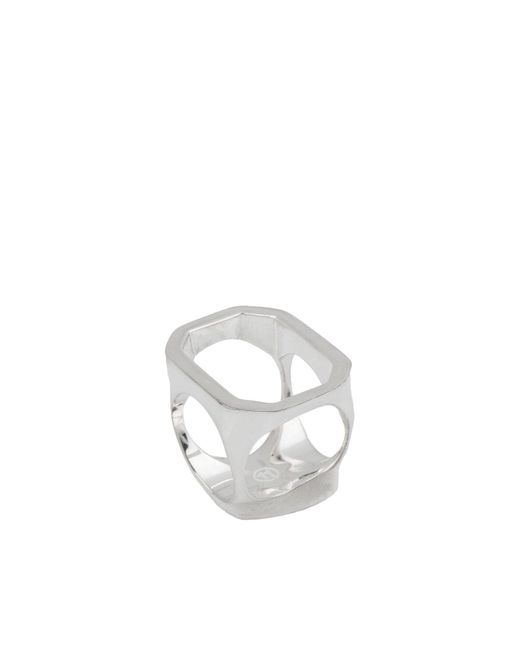 Maison Margiela - Metallic Ring - Lyst