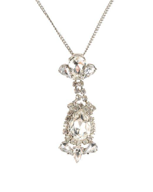 Francesco Scognamiglio   Metallic Necklace   Lyst