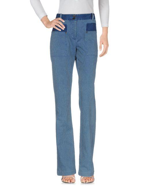 John Galliano Blue Denim Pants