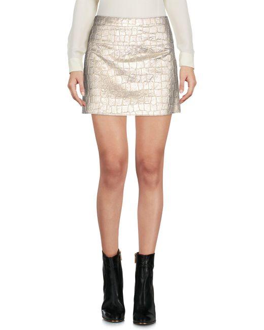 Aspesi | Multicolor Mini Skirt | Lyst