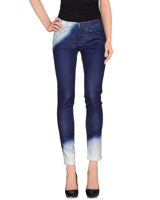 True Religion - Blue Denim Pants - Lyst