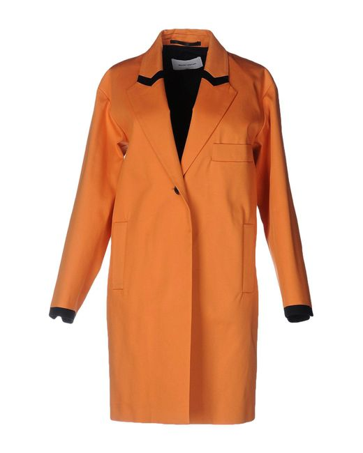 Mauro Grifoni - Orange Overcoat - Lyst