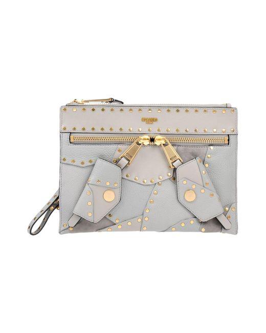 Moschino - Gray Handbags - Lyst