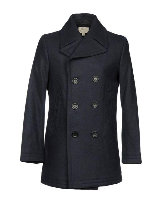 Club Monaco - Blue Coat for Men - Lyst