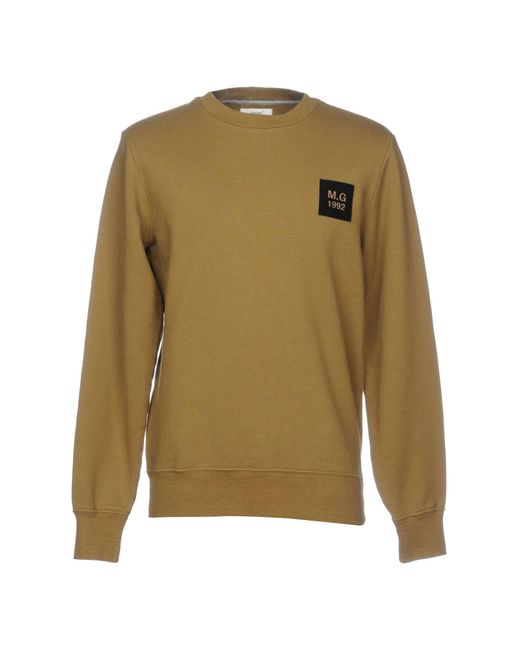 Mauro Grifoni - Green Sweatshirt for Men - Lyst