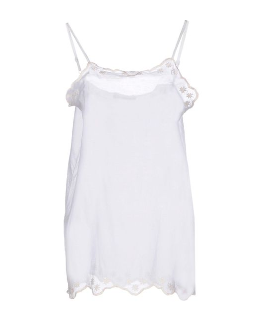 Twin Set - White Tops - Lyst
