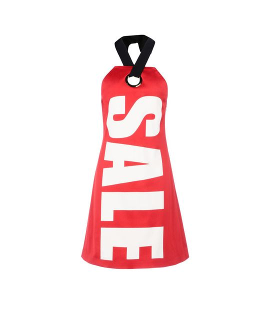 Moschino - Red Short Dress - Lyst