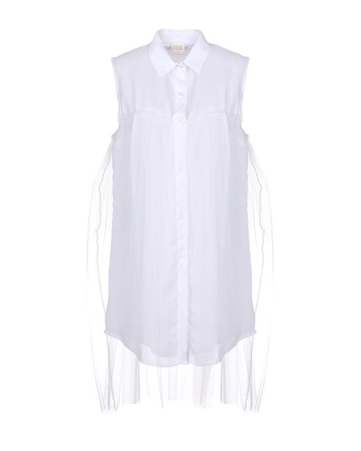 MNML Couture White Short Dress