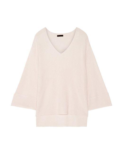 ATM - Pink Modal-blend Sweater - Lyst