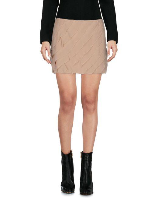 Elisabetta Franchi - Pink Mini Skirt - Lyst