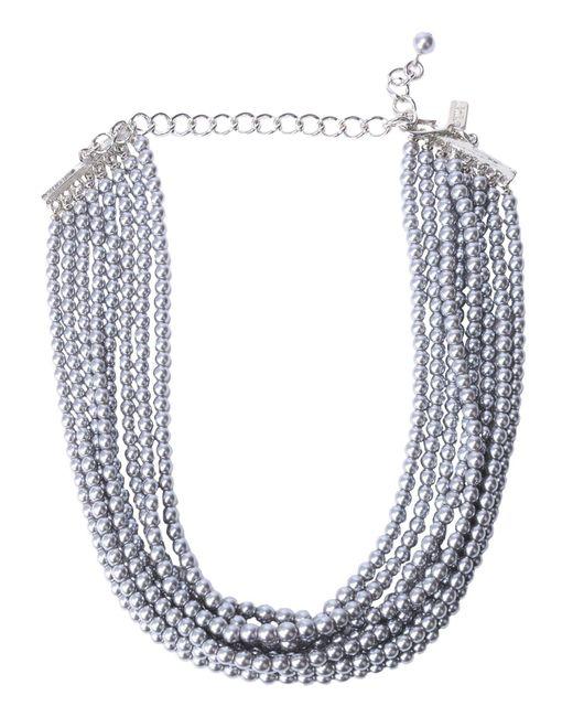 Kenneth Jay Lane | Metallic Necklaces | Lyst