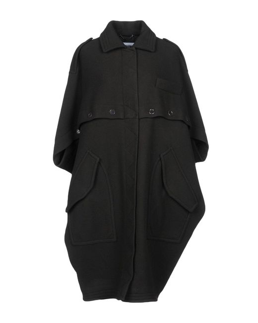 Moschino - Black Coat - Lyst
