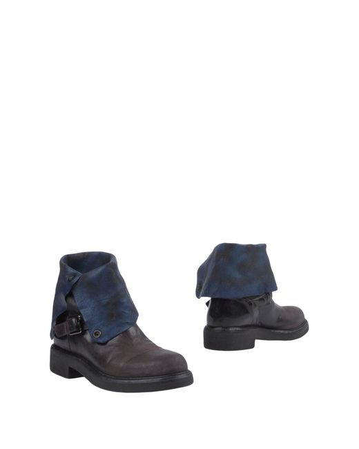 Alberto Fasciani - Brown Ankle Boots - Lyst