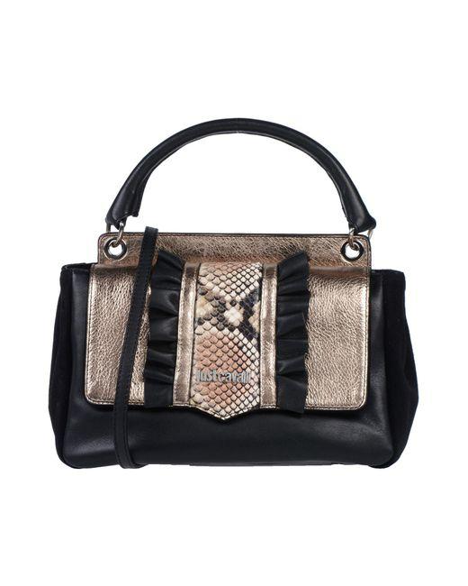 Just Cavalli - Black Handbag - Lyst