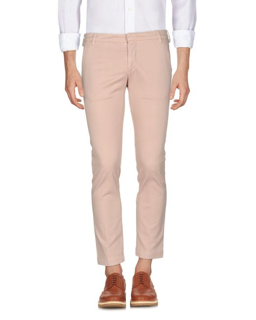 Entre Amis - Pink Casual Trouser for Men - Lyst