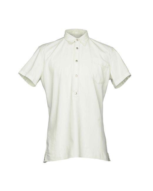 Hydrogen - White Denim Shirts for Men - Lyst