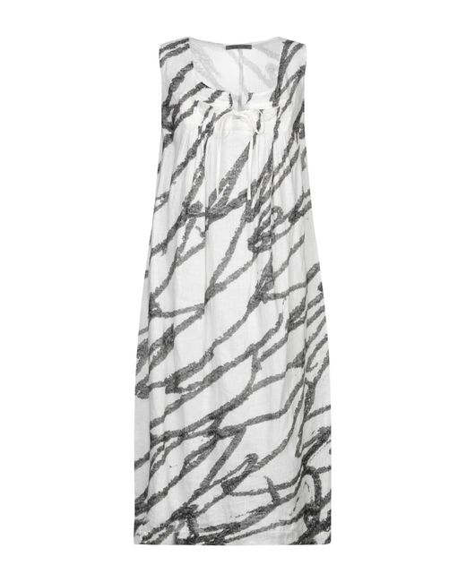 Crea Concept White 3/4 Length Dress