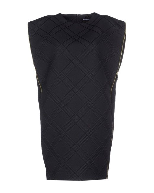 Dirk Bikkembergs | Black Short Dress | Lyst
