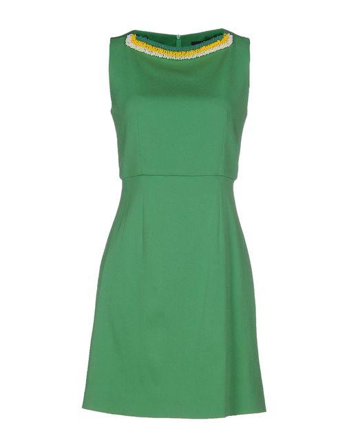 Jo No Fui | Green Short Dress | Lyst