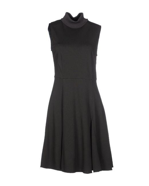 Ajay   Green Short Dress   Lyst