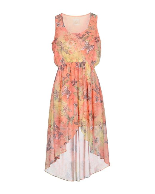 Maison Espin | Multicolor Short Dress | Lyst