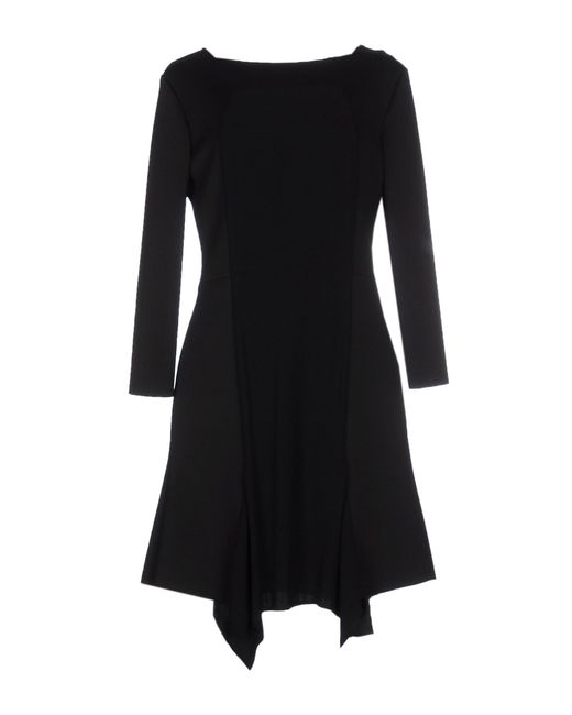 Space Style Concept | Black Short Dress | Lyst