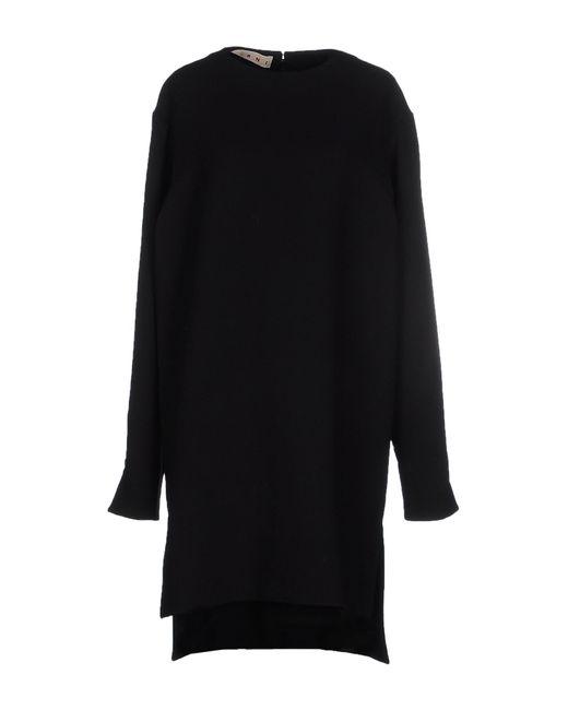 Marni | Blue Short Dress | Lyst