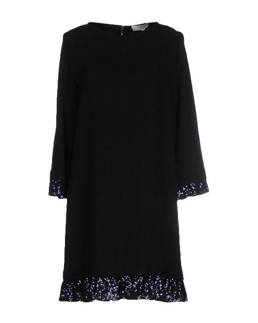 Vanessa Bruno Athé | Black Short Dress | Lyst