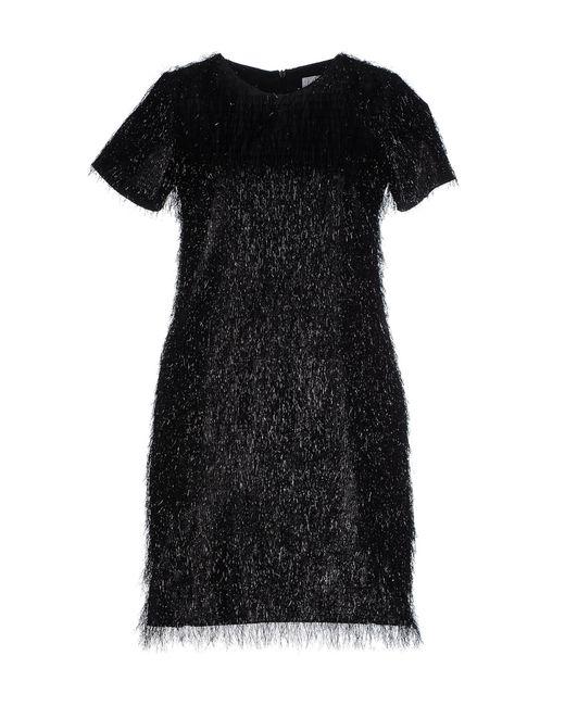 Blugirl Blumarine | Black Short Dress | Lyst