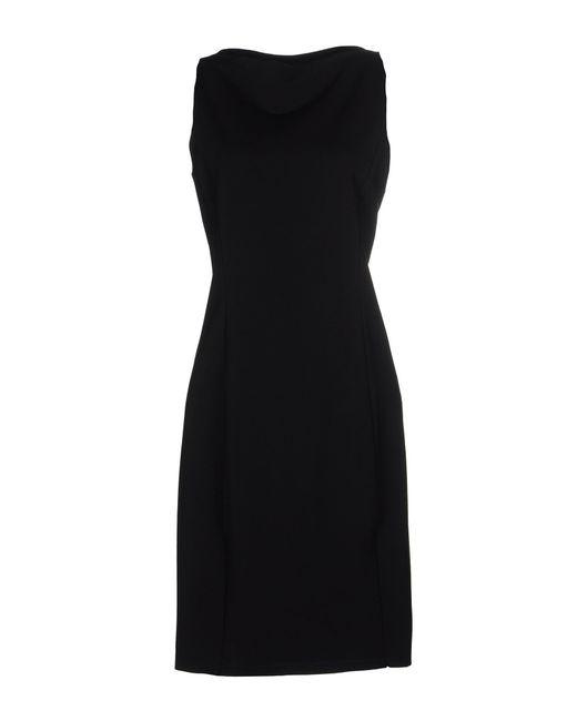 Diane von Furstenberg | Black Evita Dress | Lyst