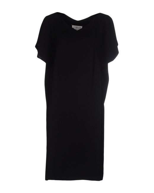 Maison Margiela | Black Short Dress | Lyst